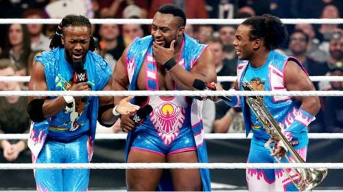 The New Day always have an advantage with its three members