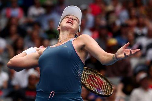 2019 Australian Open - Day 5 - Anastasia Pavlyuchenkova from Russia