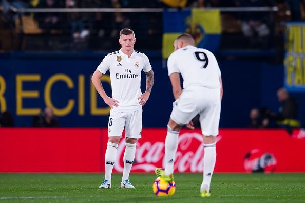 Real Madrid need a reliable score for the big matches