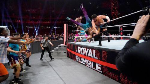Samoa Joe eliminated No Way Jose in 2 seconds