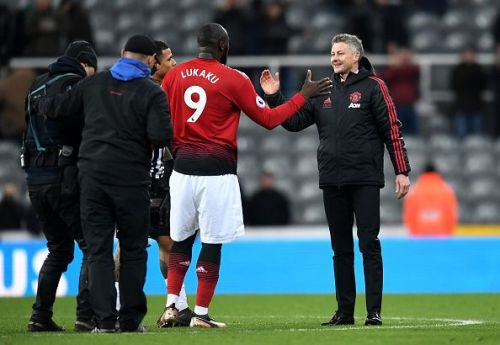 Lukaku is playing well since Solskjaer's arrival, but he is not a consolidated starter for United