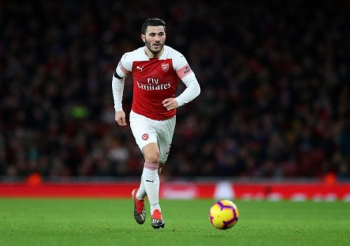 Kolasinac is a fiery left back who likes to attack.