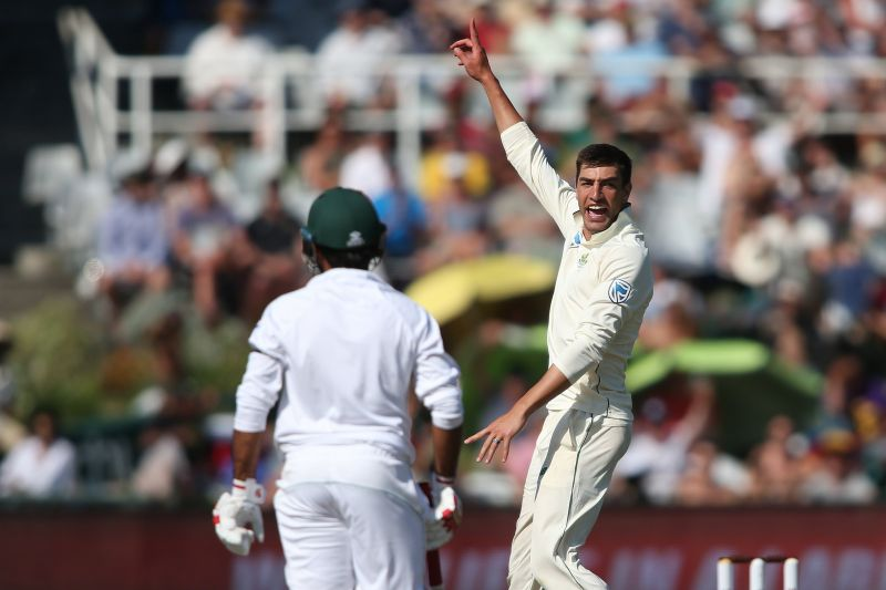 olivier 5 wickers south africa bowler
