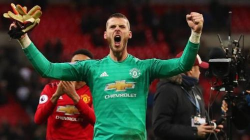 De Gea made an incredible 11 saves in the match