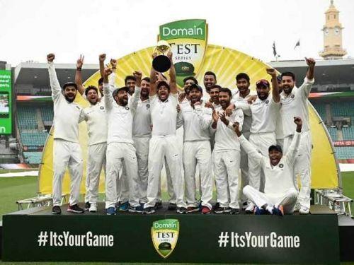 India won the Border-Gavaskar Trophy by clinching the series 2-1
