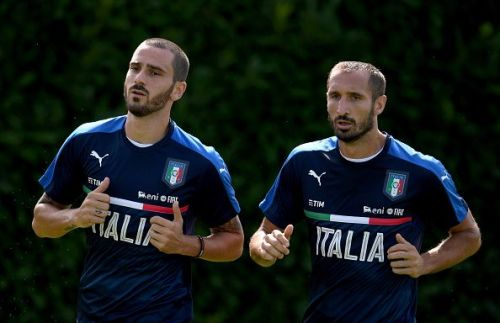 Bonucci and Chiellini are inseparable at the heart of defence
