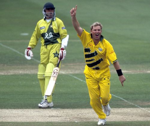Shane Warne took four wickets in the finals of the 1999 World Cup.