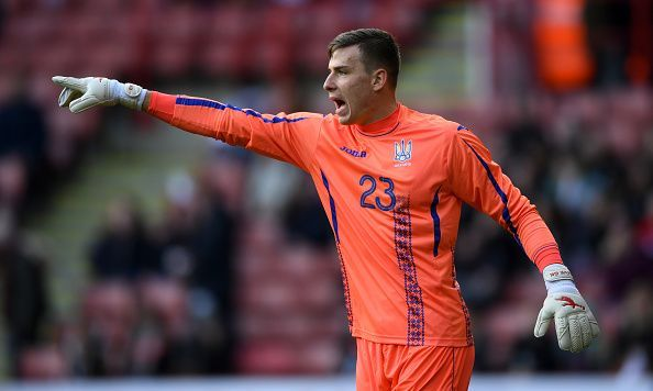 Andriy Lunin is currently on loan at Leganes