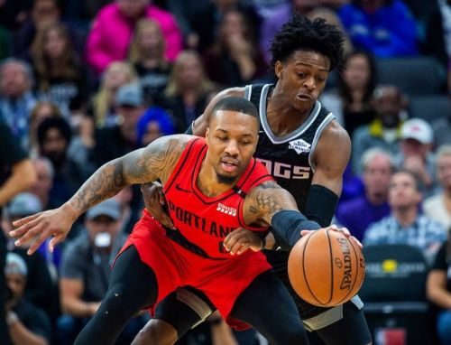 The Blazers edged the Kings in an overtime thriller