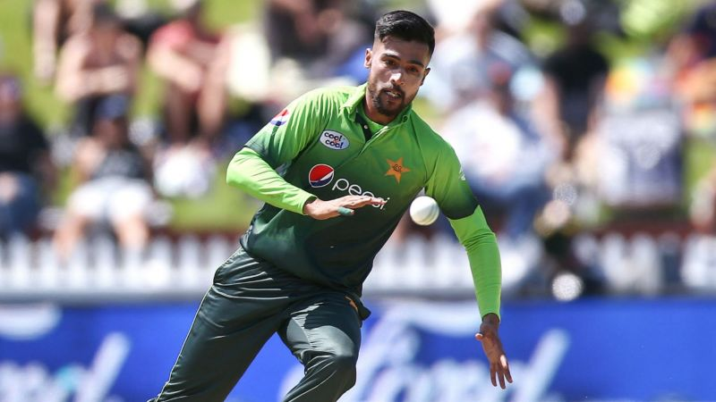Pakistan bowler Mohammad Amir