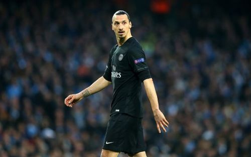 Ibrahimovic scored a ridiculous 156 goals in 180 games for PSG in four seasons.