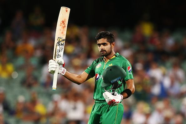 Babar Azam is the #1 ranked batsman in the ICC T20I Rankings