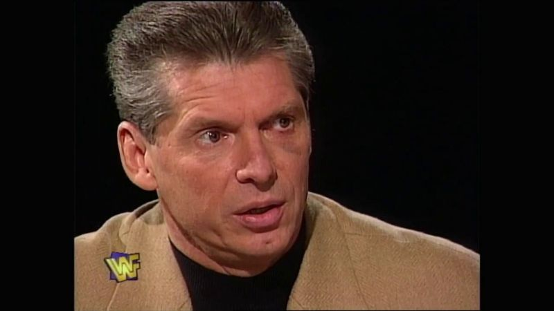 Vince McMahon in 1997, the night after Survivor Series