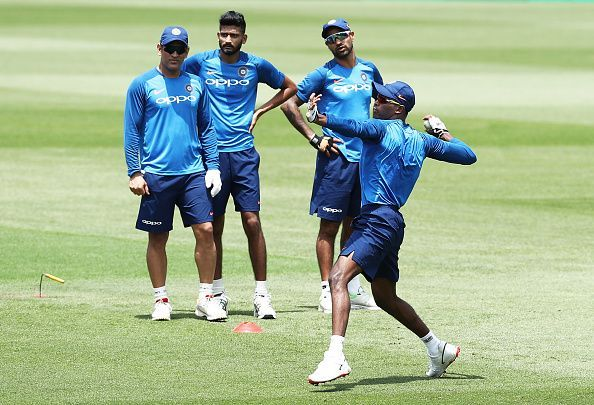 India ODI Series Training Session