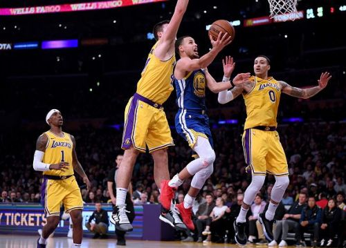 Kyle Kuzma had a disappointing game