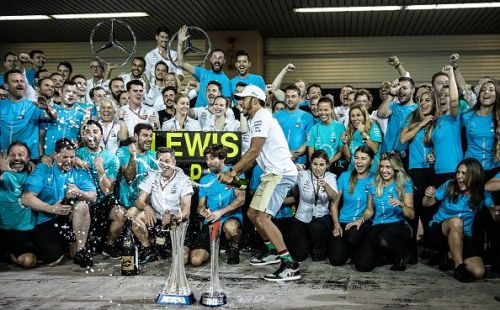 Mercedes have to pay the most because they finished first in the Constructors' championship