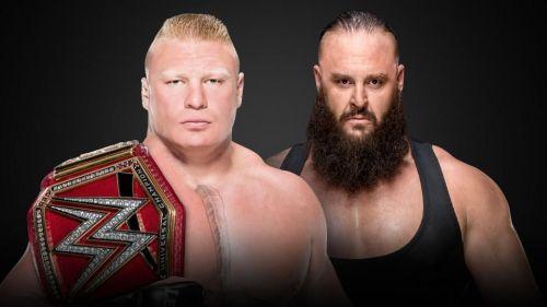 Brock Lesnar vs. Braun Strowman