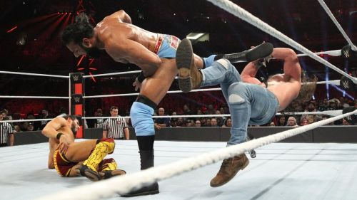 The Modern Day Maharaja could not last even 30 seconds in the 2019 Royal Rumble match