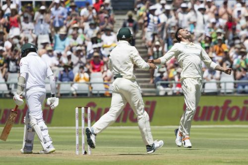 Image result for South Africa vs Pakistan 2nd Test 2019 4th day