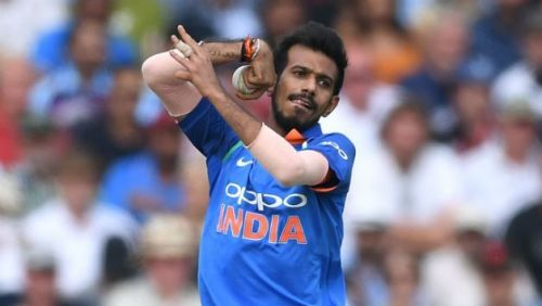 Yuzvendra Chahal was the unlikely top scorer for India