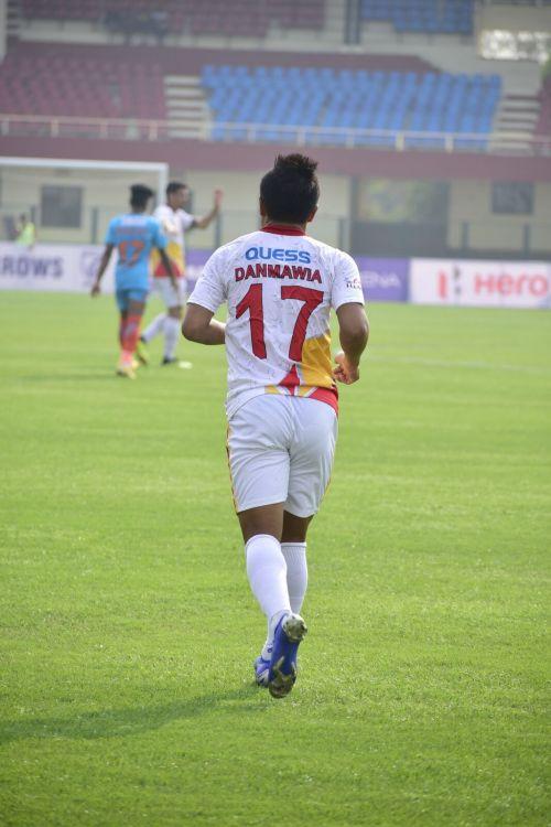 Danmawia scored the first goal