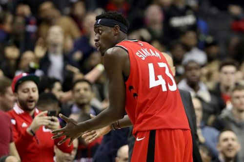 Pascal Siakam scored 18 points for the night