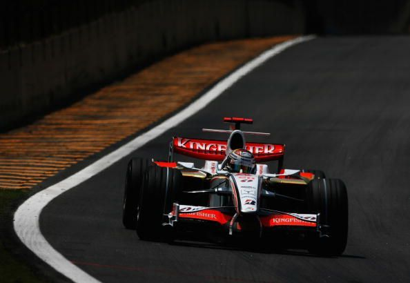 The VJM01 was Force India