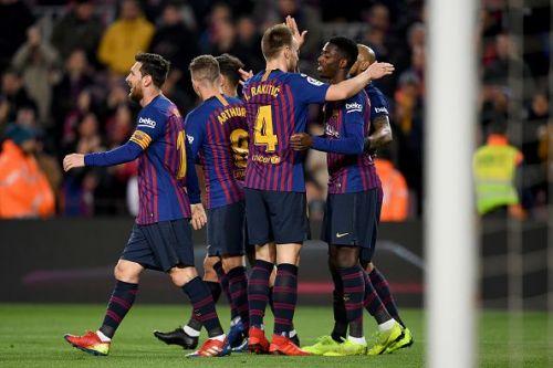 Barcelona are going in search of a seventh successive LaLiga win