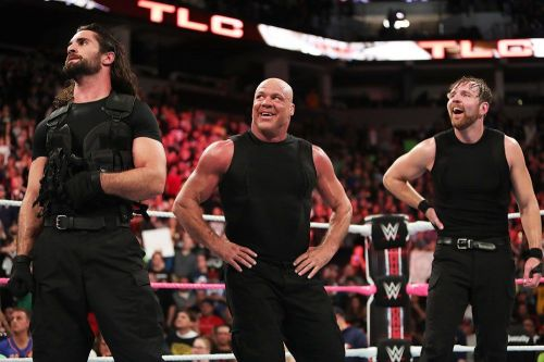 Angle has previously teamed up with Ambrose before in the past.