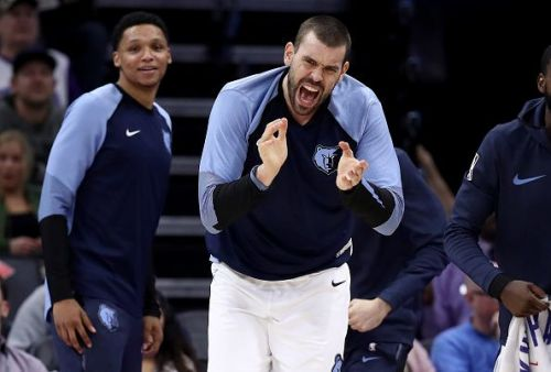 Marc Gasol's Memphis Grizzlies will be hoping they can win their second consecutive game