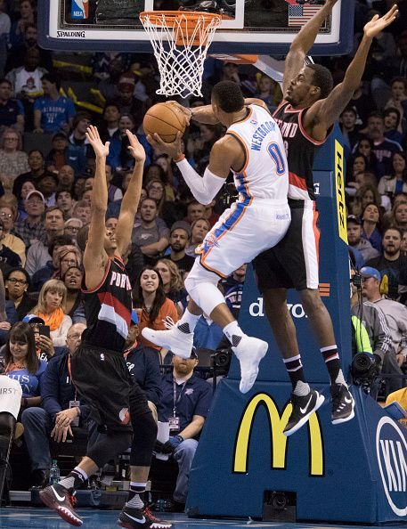 Both teams are driven by potential MVP candidates at the point guard spot in Damian Lillard and Russell Westbrook