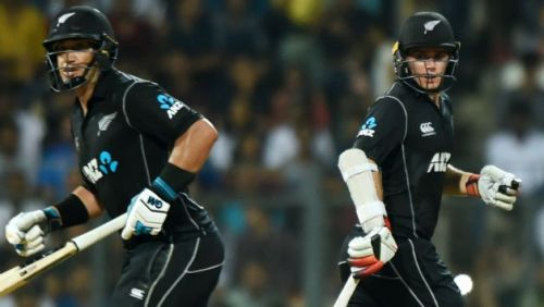 Tom latham & ross Taylor