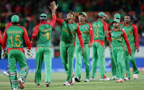 Bangladesh at the 2015 world cup.