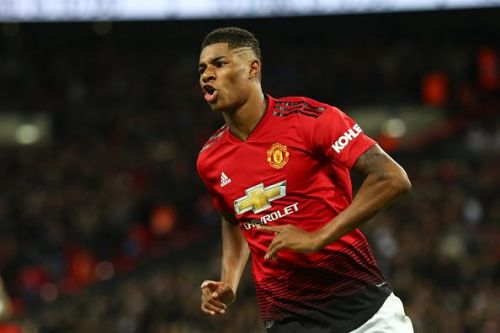 Rashford seized on an opening to punish Spurs