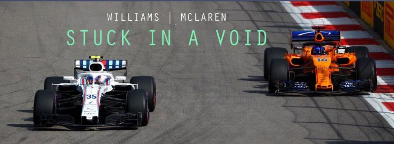 Independent teams Williams and McLaren are struggling in F1