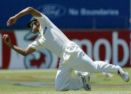 Dravid takes 210 catches
