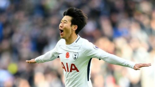 Tottenham Hotspur's Son Heung Min won the prestigious award by a margin of 142 points