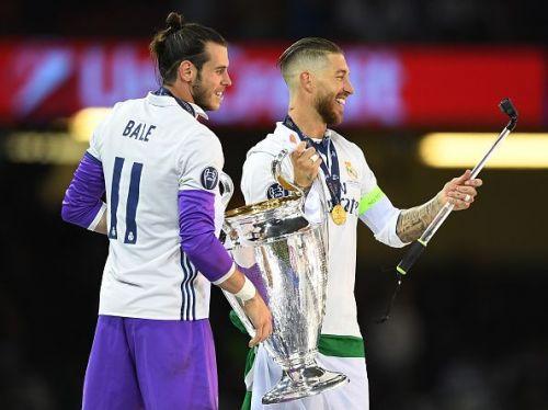 Gareth Bale and Sergio Ramos