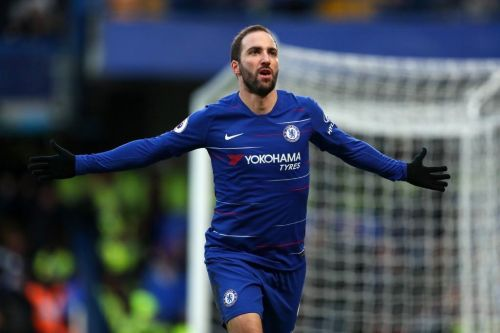 Higuain looks set to succeed at Chelsea