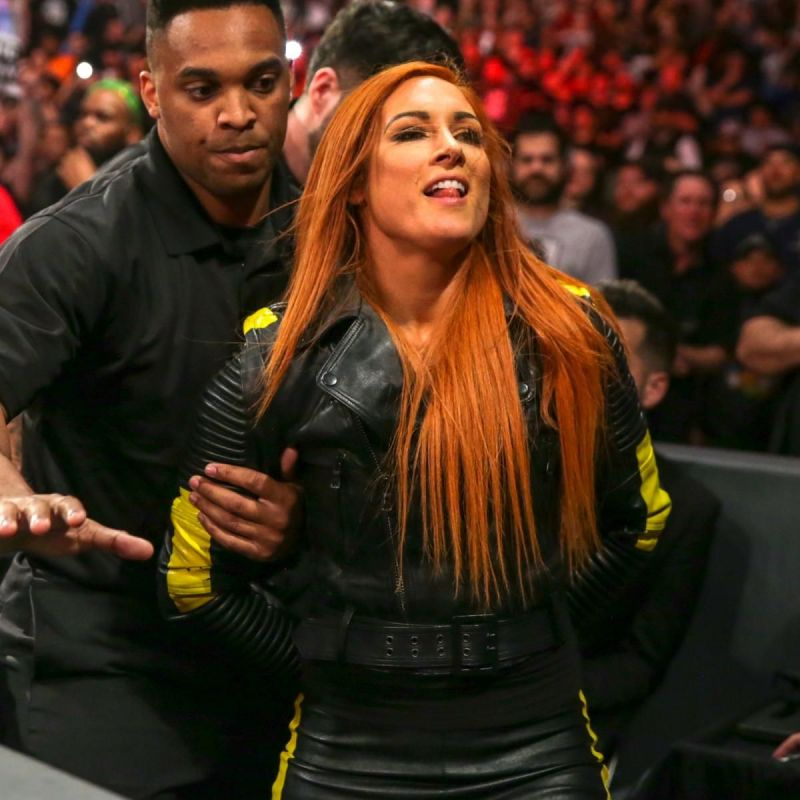 Becky Lynch stood tall this Sunday as fans chanted