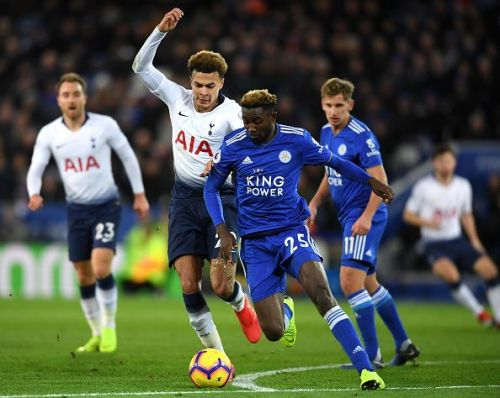 Tottenham play host to Leicester on Sunday afternoon