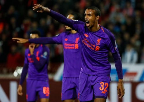 Joel Matip should start for Liverpool
