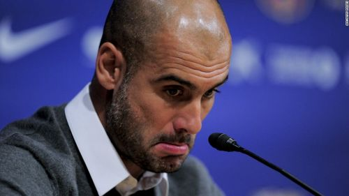 Pep has had a bad run in the knockout stages