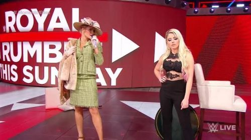 Lacey Evans and Alexa Bliss