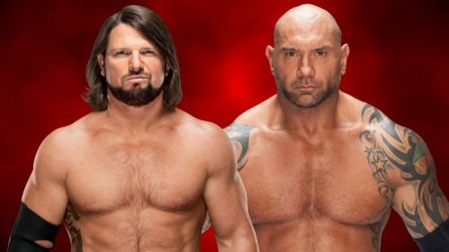 Styles and Batista waged a war of words before the Phenomenal One came to the WWE.
