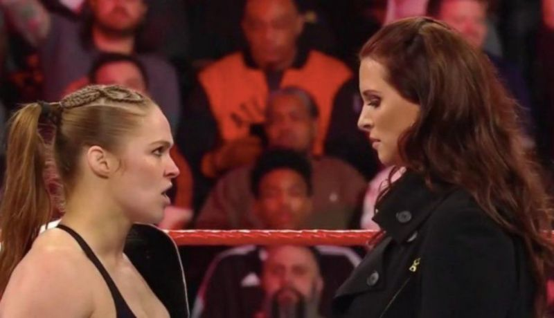 5 Reasons Why Ronda Rousey Possibly Vacated The Raw Womens Title On Raw