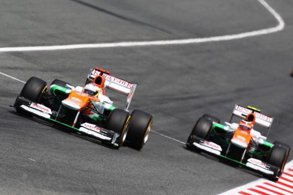 Paul di Resta and Nico Hulkenberg had great seasons at Force India in 2012
