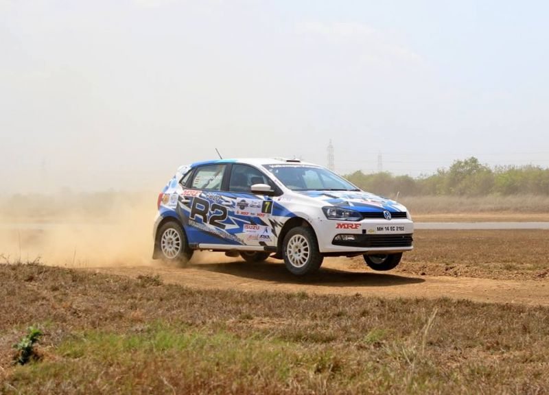 R2 in action - INRC South India Rally 2018 (Photo Credits: Anand Philar)