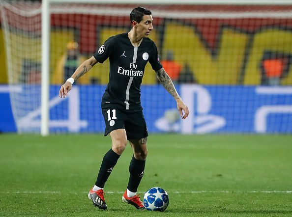 Angel di Maria endured a forgettable spell at Manchester United