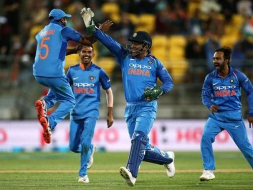 India routed the Kiwis to claim the ODI series by 4-1